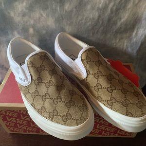 Custom Gucci Slip On Vans